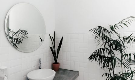 coin de la salle de bain